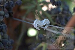 Vegeclip bio-degradeable foliage wire clips